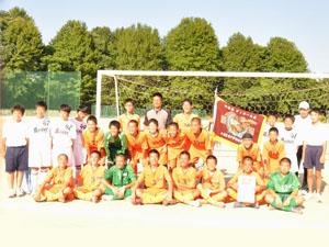 玉名有明中サッカー部を応援する会