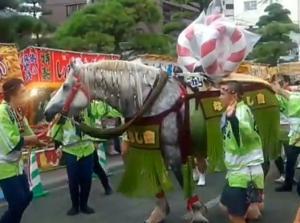 なみあし會 [藤崎宮秋季例大祭]