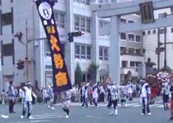 詫麻 北勢会 [藤崎宮秋季例大祭]