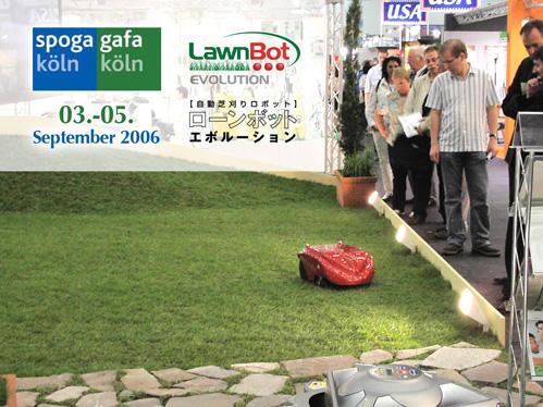 自動芝刈りロボット ローンボットエボルーション